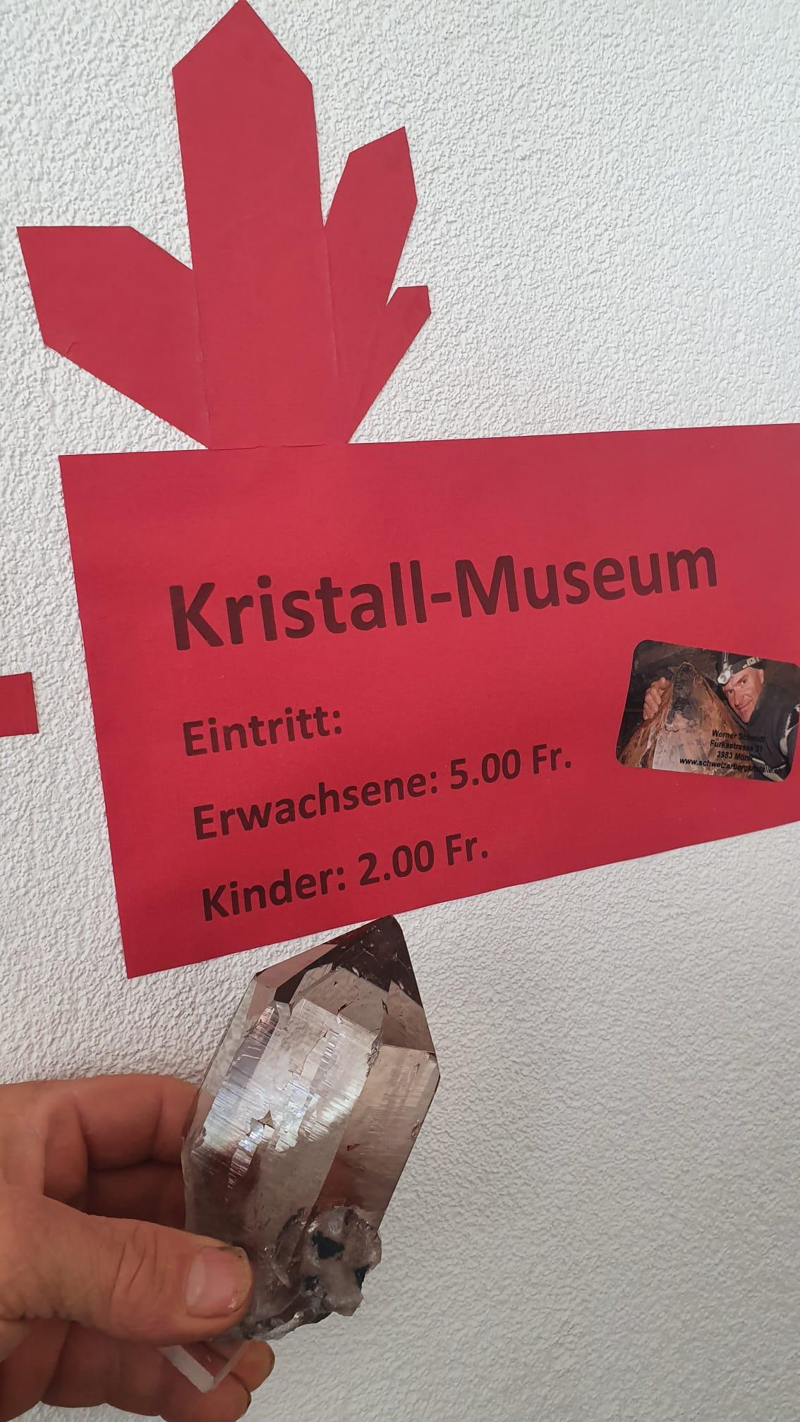 © Schweizer Strahler Museum Werner Schmidt im Wallis