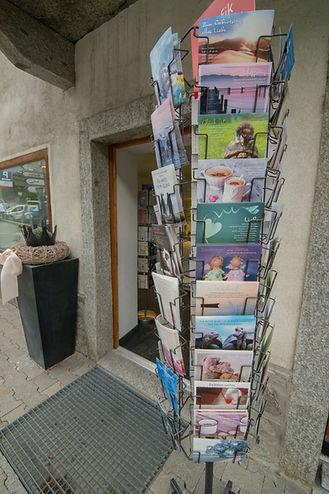 Eingang zu Steinheimisch in Mörel-Filet