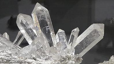 Schweizerbergkristalle vom Berufs Strahler Werner Schmidt im Wallis