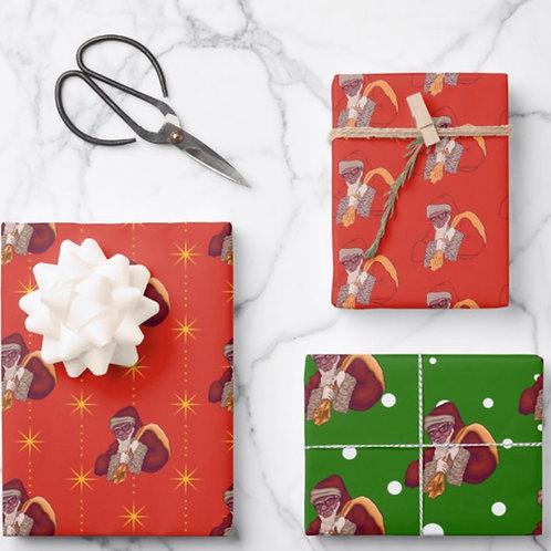 Saint Nicholas Wrapping Paper