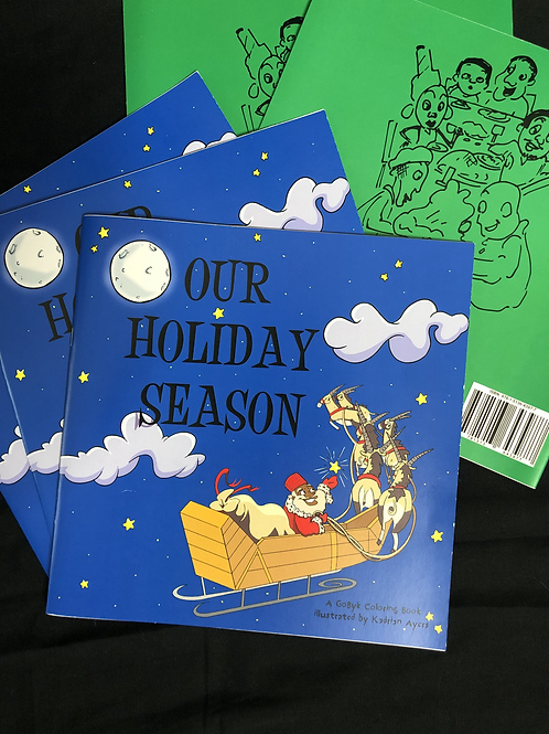 Our Holiday Season coloring book      (5 pack)