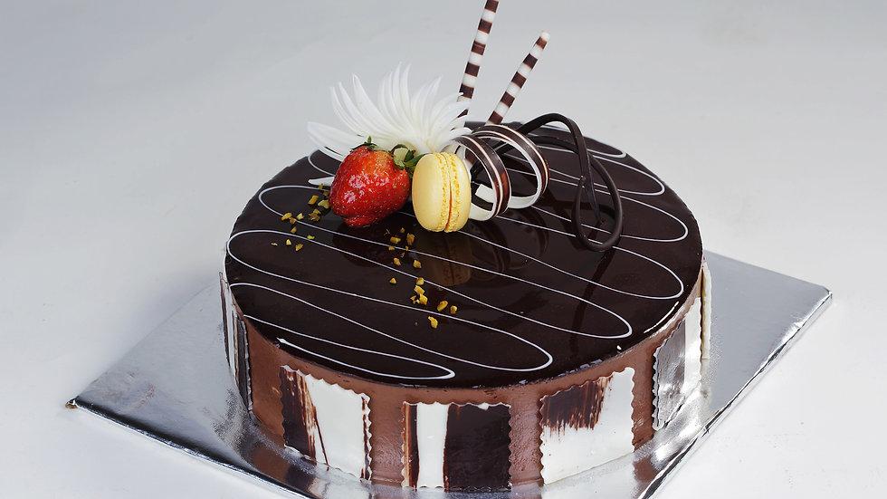 Chocolate mousse 16cm+