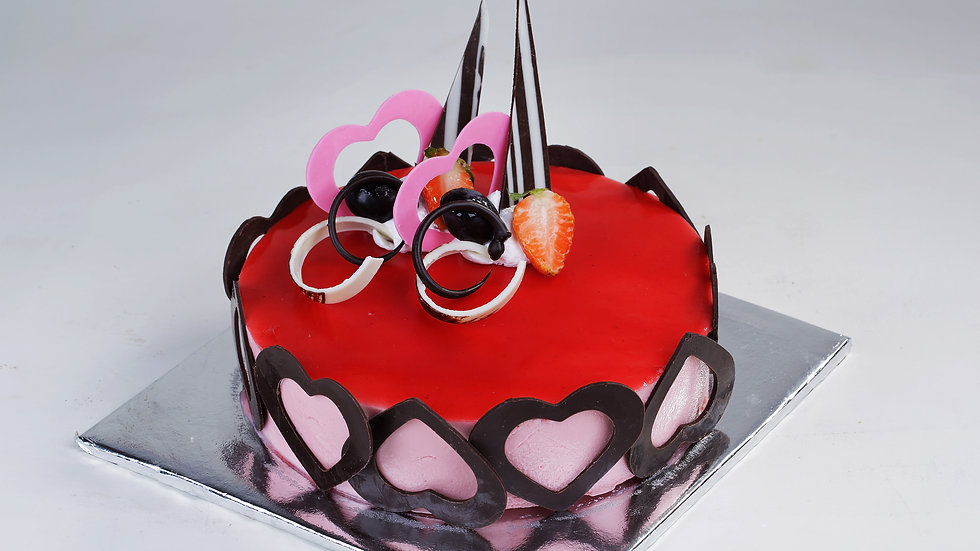 Stawberry Cheese Mousse 16cm+
