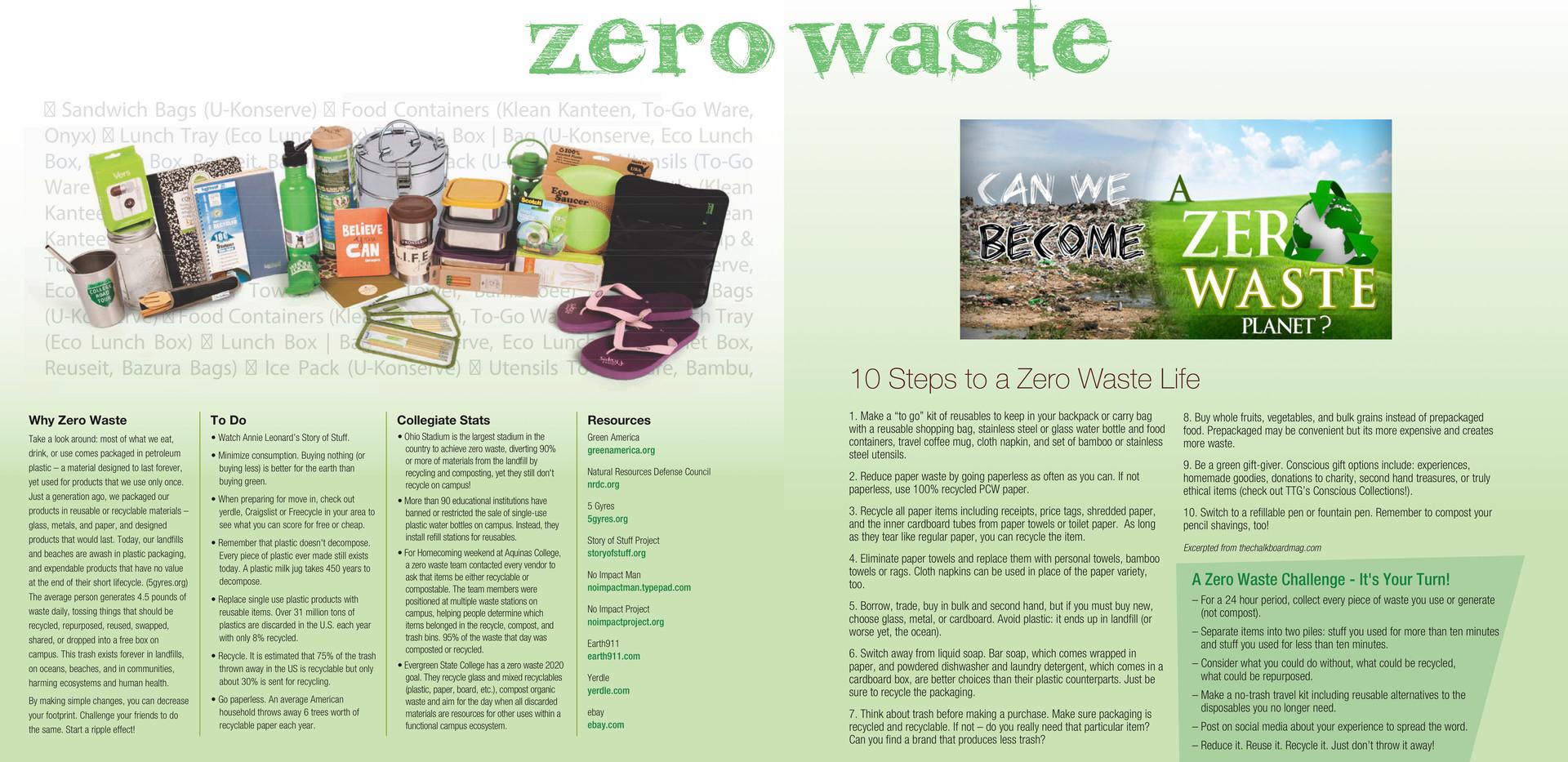 Zero Waste CCRT Board