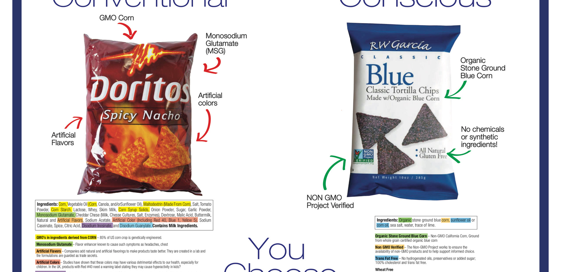 Conventional to Conscious Chips