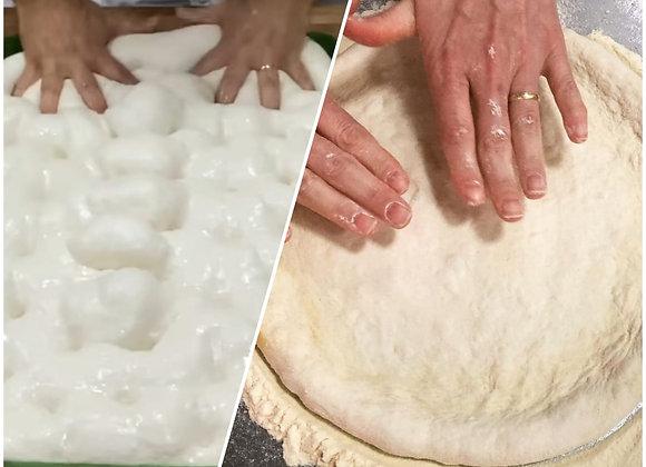 Workshop de Pizza Clássica & Focaccia Sourdough - RJ