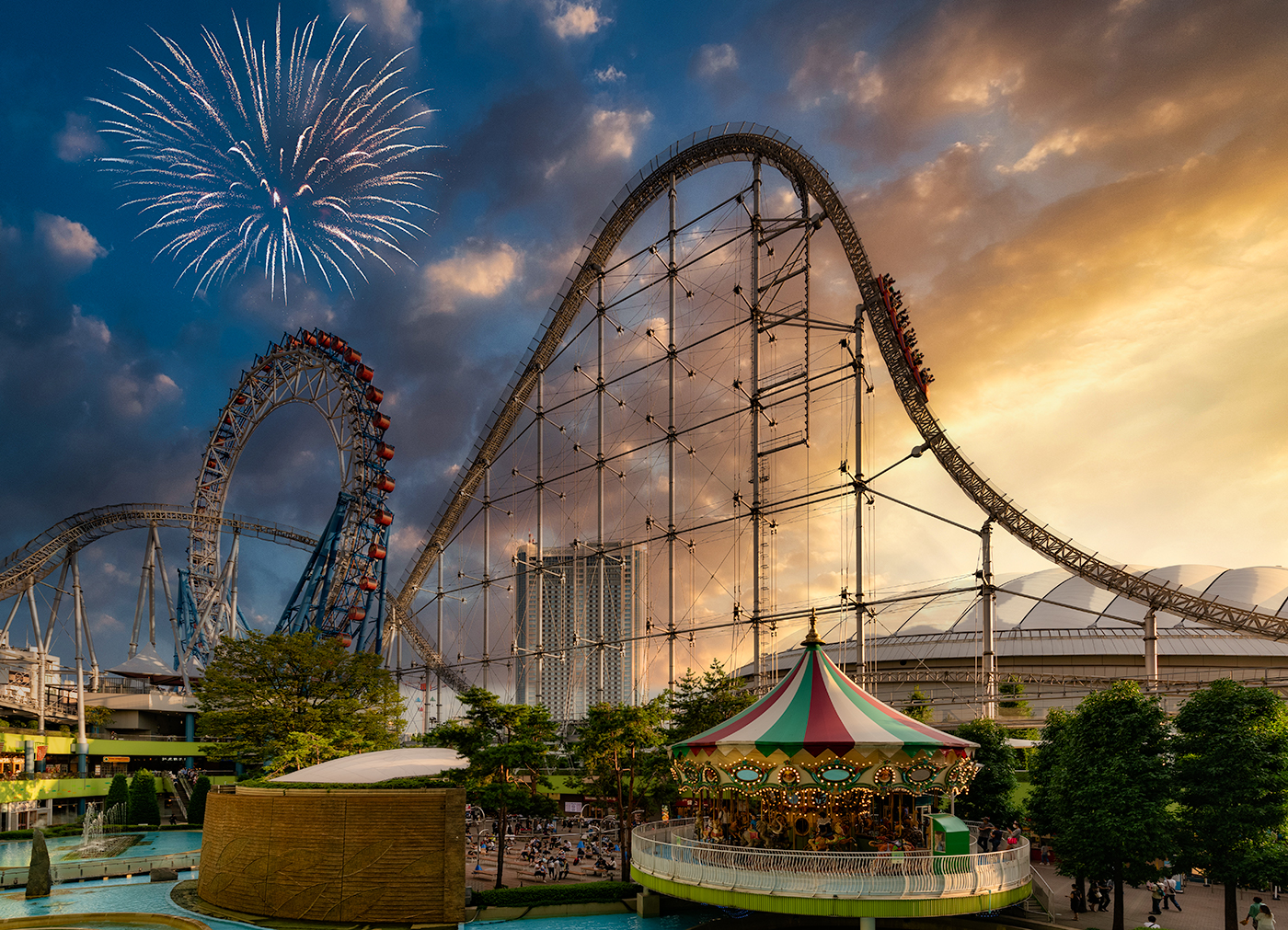Rollercoaster in Japan