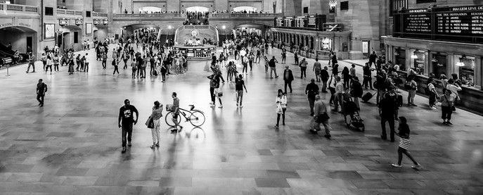 Commuters at Grand Central