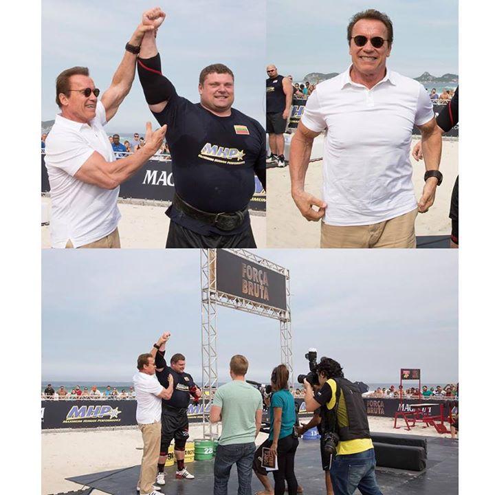 Facebook - #makingoff Arnold Strongman 2015 no Esporte Espetacular💪🏻💪🏻