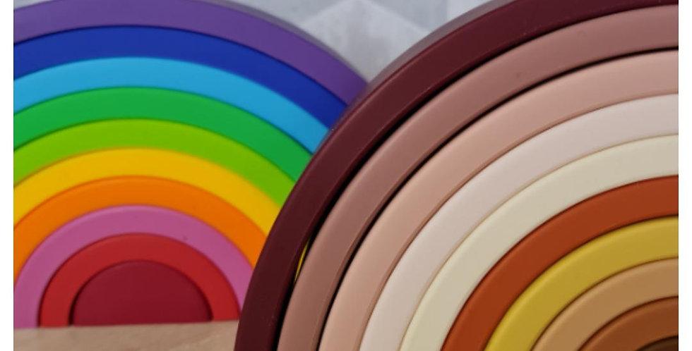 Silicone Rainbow Stacking Toy - Large