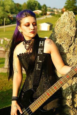 Beauty, fashion, gothic, rocker makeup, Amy Wilkins