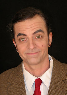 Mr Bean, character makeup, theatrical