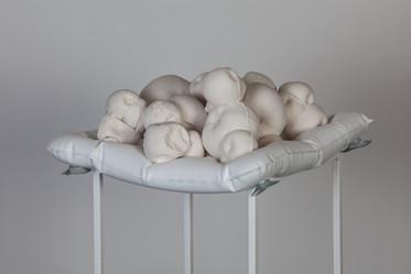 still life with bath cushion 2014