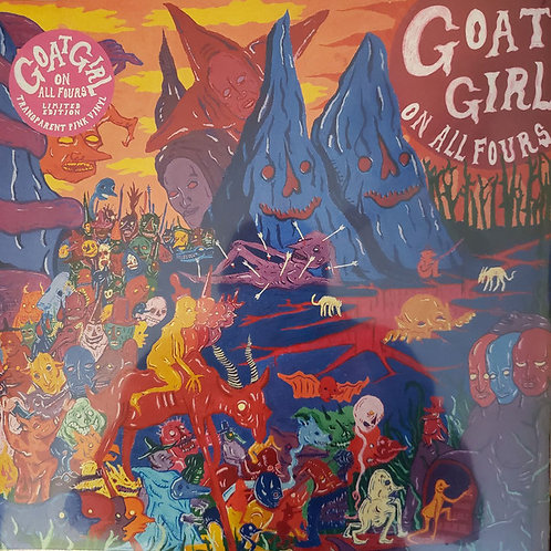 Goat Girl 'On All Fours' Ltd edition