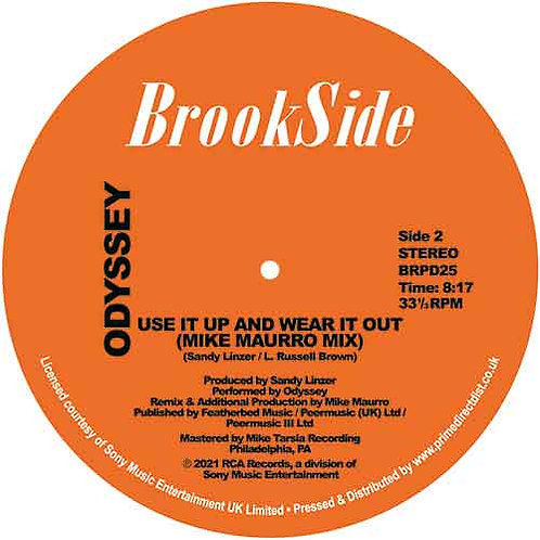Odyssey 'Native New Yorker/Use It Up And Wear It Out Mike Maurro Mix'(Brookside)