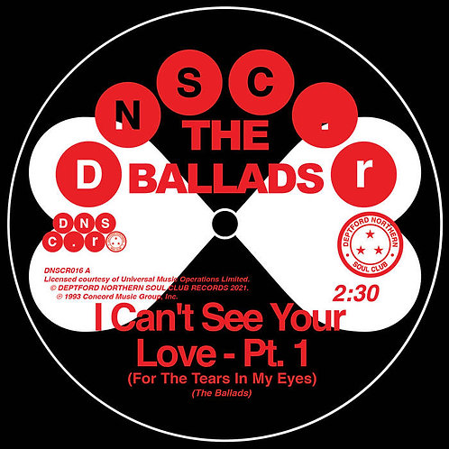 The Ballads ' Can't See Your Love (For The Tears In My Eyes) Pt.1+2 (DNSC)