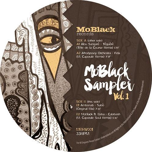 Various 'Mo Black Sampler Vol.1 ' (Mo black)