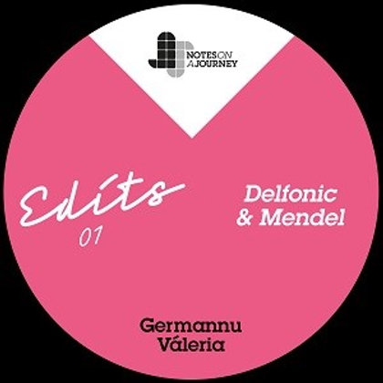 Germannu/Valéria 'NOAJ Edits 01: Mendel & Delfonic' (Notes on a Journey)
