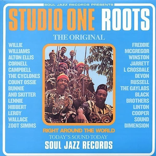 Various 'Studio One Roots, The Rebel Sound at Studio One' (Soul Jazz)