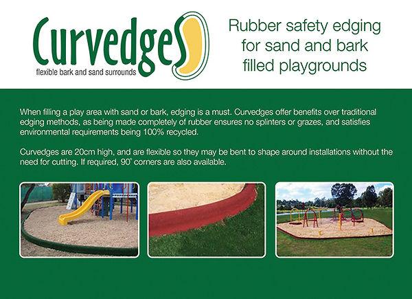Playground edging