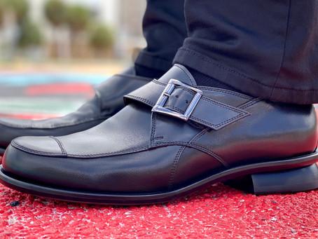 The LUCAS monk strap shoe by Mark Schwartz Mens Shoes.