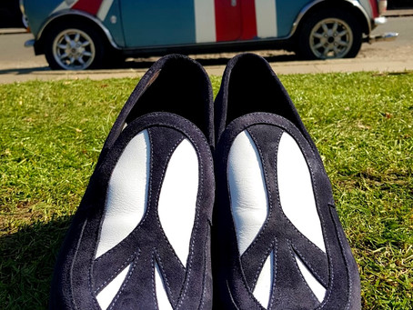 GIVE PEACE A CHANCE - MARK SCHWARTZ MENS PEACE LOAFER.