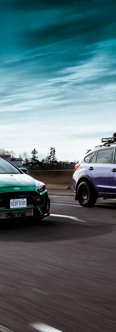 Ford Focus & Subaru Crosstrek
