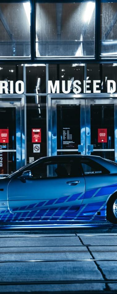 Paul Walker Tribute R34 Nissan Skyline