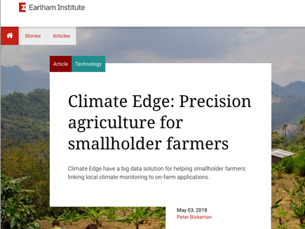 The Earlham Institute interviews James