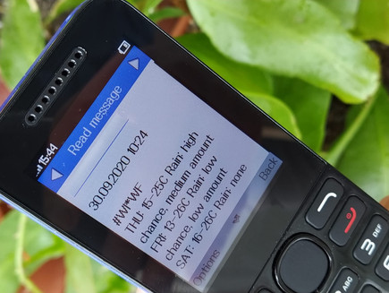 Climate Edge launches SMS Weather Forecast for Smallholder Farmers