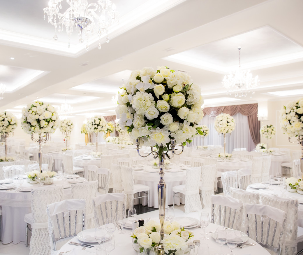 Beautifully decorated in white colours w