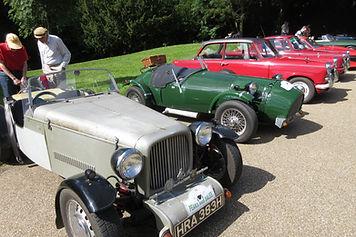 Hare & Hounds Classic Car Club Peaks & Dales Run, H & H CVC organised run
