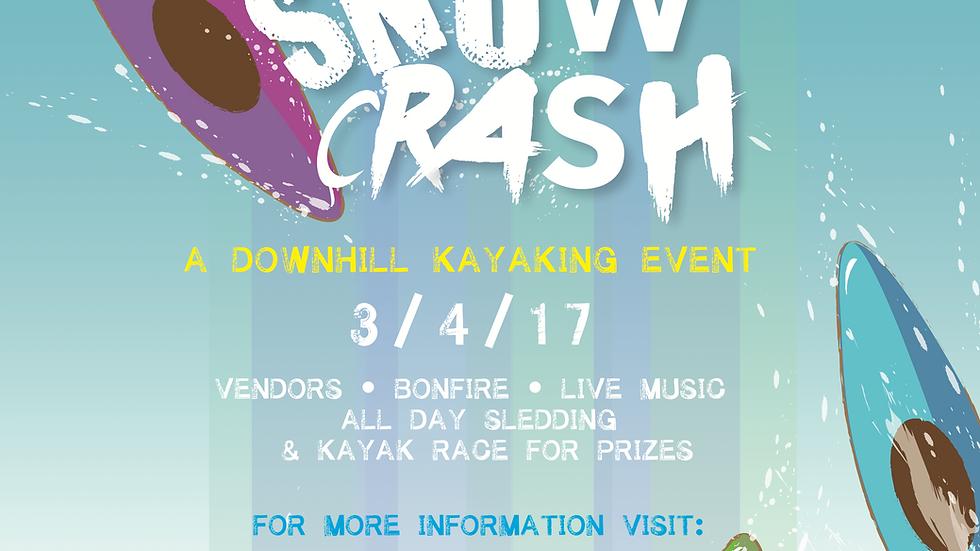 2017 Boat Bash Snow Crash Print