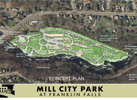 Plans for proposed Franklin water park include walking trails, camping site