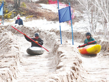 Boat Bash Snow Crash: Franklin making name for itself with downhill kayak race