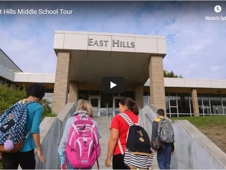 East Hills Middle School - The Home of Future Entrepreneurs!  G.O.A.T. Pet Speaker Promo code: EHMS