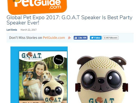 Pet Guide's Review of G.O.A.T. Speaker: