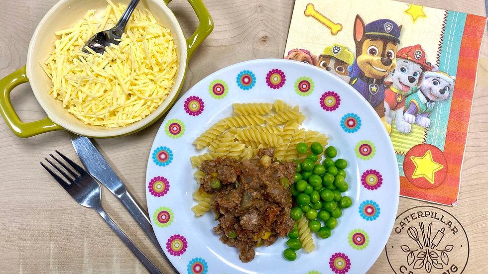 Beef & Veg Bolognese