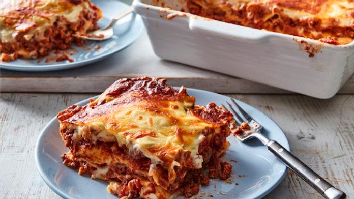 Vegetarian Lasagne (Lentils)