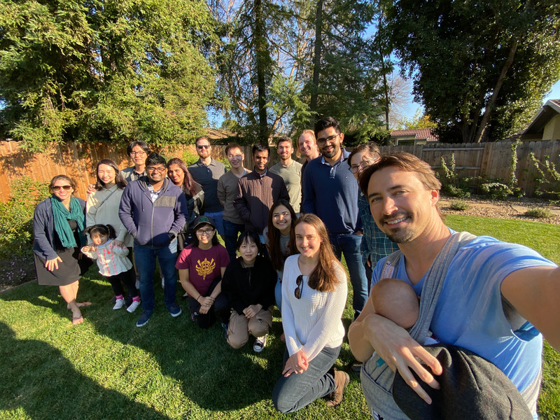 BBQ with Leite and Munday labs, 2020