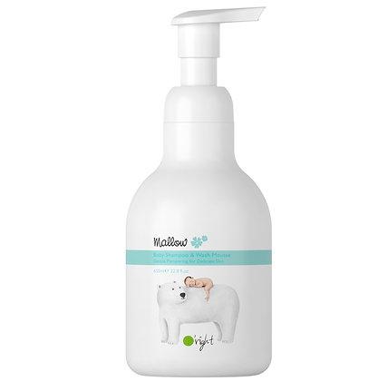 Mallow Baby Shampoo & Wash Mousse
