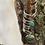 Thumbnail: Jude Candelaria Tufa cast all natural Royston bolo w/Hand braided leather