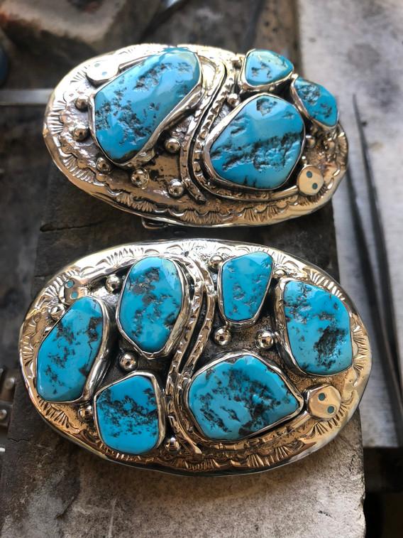 Jude Candelaria Buckel w/ Sleeping Beauty Turquoise