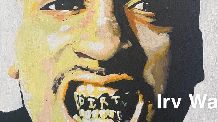 Artist Irv Wauneka- Dirty (print)