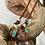 Thumbnail: Jude Candelaria Hummingbird Choker/ bolo w/ hand braided kangaroo strap