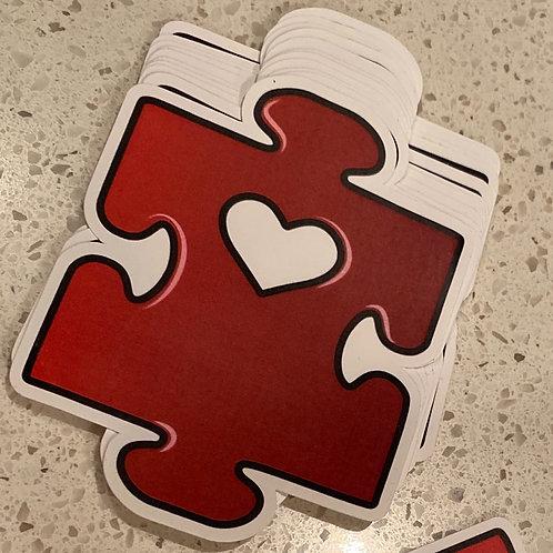 AU Puzzle Sticker