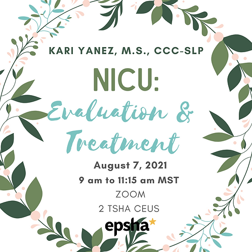 NICU - Evaluation and Treatment