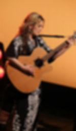 Graham Clark playing with Little Sparrow, Katie Ware, Hebden Bridge, Girls allowed, taken by Shay Rowan 8/7/12