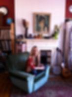 Little Sparrow, Katie Ware, The Swallow Flies video, taken by Anna Budrys 15/3/12