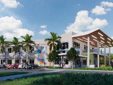 ECF's New Building!